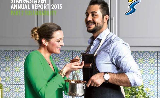 Stangastaden Sustainability Report 2015
